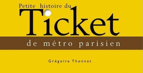 Petite histoire du ticket de métro parisien ...   Remue-méninges FLE   Scoop.it