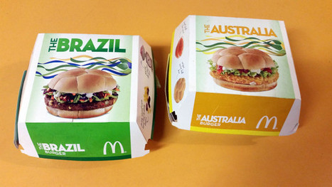 Taste Test: McDonald's 2014 World Cup Brazil And Australia Burgers - Lifehacker Australia | 2014 World Cup | Scoop.it
