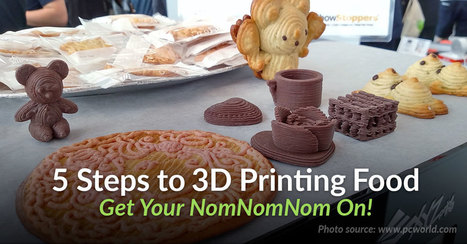 5 Step Beginners Guide to 3D Printing Food - @Pinshape | iPads, MakerEd and More  in Education | Scoop.it