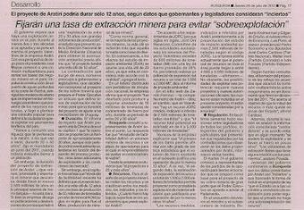 Uruguay / Aratirí : Minería 2035 ¿A dónde se fué el hierro? | MOVUS | Scoop.it