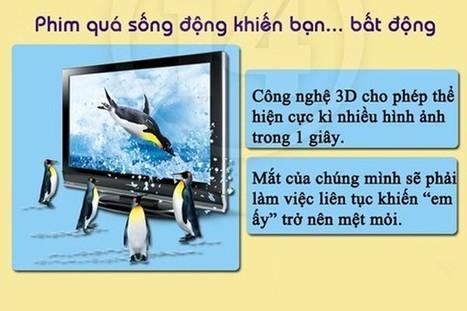 Cách bảo vệ mắt khi xem tivi 3D - Tin tức mới nhất từ Vinashopping.vn | vanhung | Scoop.it