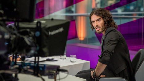 Russell Brand, the revolutionary now calling on MPs - video | IBDP YEAR 12 Lang+Lit RCHK Standard Level | Scoop.it