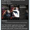 Sony Walkman 8.3.A.0.7 app update rolling | Gizmo Bolt | Scoop.it