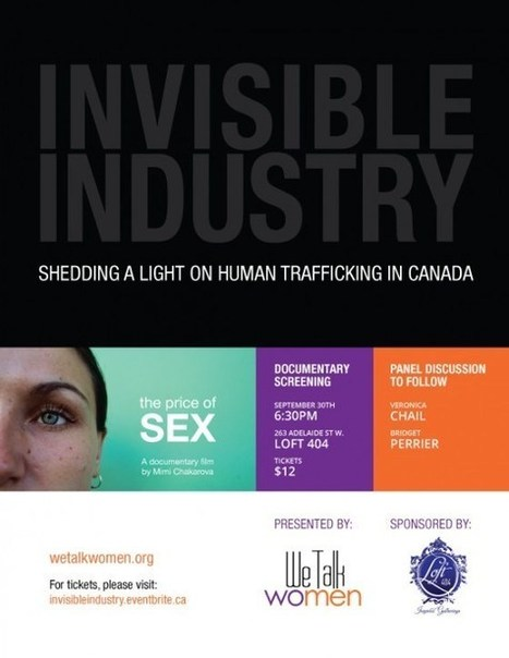 Invisible Industry: Shedding a light on human trafficking in Canada (Event) | Social Media Slant 4 Good | Scoop.it