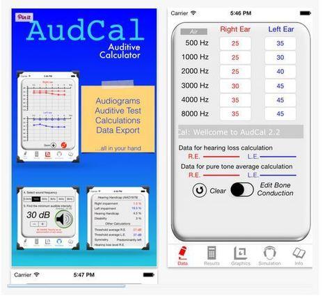 Estudio: app Audiología, AudCal, mostró fiabilidad y correlación con pruebas de audición tradicionales | mobihealthnews | Las Aplicaciones de Salud | Scoop.it