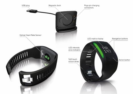 Adidas miCoach Fit Smart, le bracelet connecté pour le sport | Geeks | Scoop.it