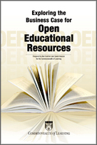 Commonwealth of Learning - Exploring the Business Case for Open Educational Resources | Commonwealth OER | Scoop.it