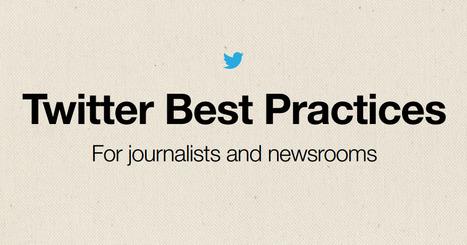 Descarga la guía de buenas prácticas de Twitter para periodistas y medios   Miscelaneo de Ideas.   Scoop.it