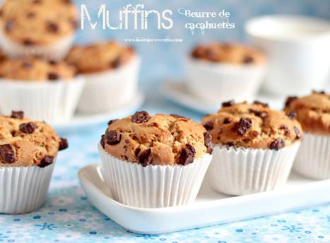 Muffins au beurre de cacahuetes   cuisine algerienne et recettes de ramadan   Scoop.it