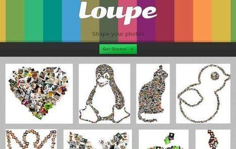 Loupe, crea online bonitos collages de variadas formas | AleeS | Scoop.it