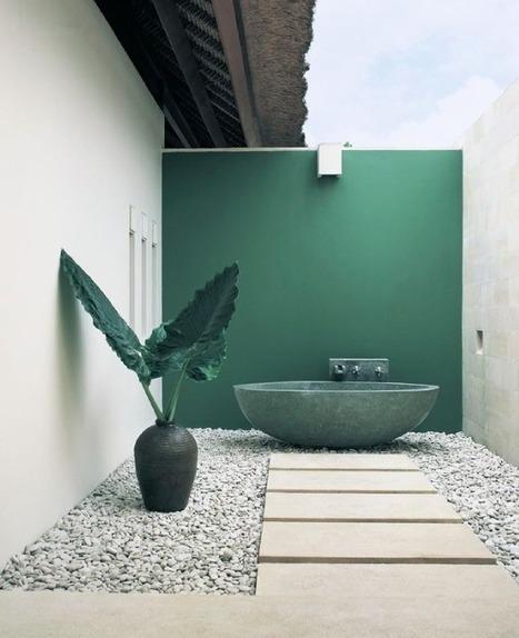 Idée déco | Une baignoire en plein air... | décoration & déco | Scoop.it
