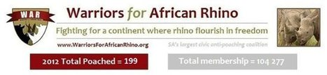 WAR Calls us to Arms for the Rhino | Nikela | What's Happening to Africa's Rhino? | Scoop.it
