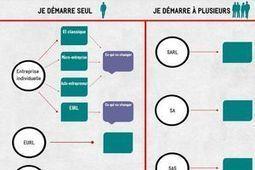 INFOGRAPHIE. Les statuts juridiques de l'entreprise | Culture Mission Locale | Scoop.it