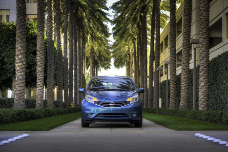 """2014 Nissan Versa Note named one of the """"10 Coolest New Cars Under $18,000"""" by Kelley Blue Book's KBB.com 