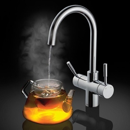 3 in 1 Instant Steaming Hot Water & Cold Water Tap (Chrome). Smeg Taps SM-ETNA3IN1 | Showers, Taps & Bathrooms | Scoop.it