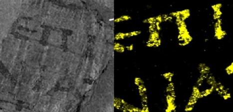 Le secret de plomb des papyrus d'Herculanum | Bibliothèque des sciences de l'Antiquité | Scoop.it