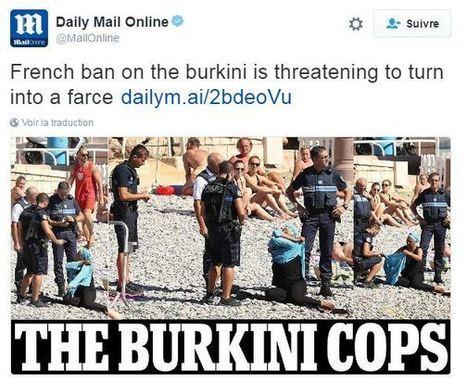 Polémique sur les photos d'une femme voilée contrôlée sur une plage à Nice | Econopoli | Scoop.it
