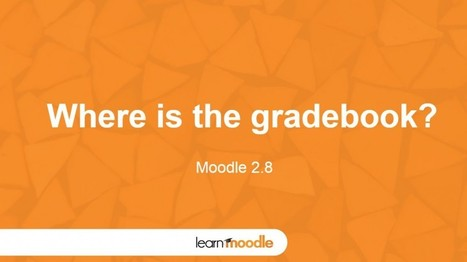 Moodle 2.8 How To Gradebook - Moodle Tuts | mOOdle_ation[s] | Scoop.it