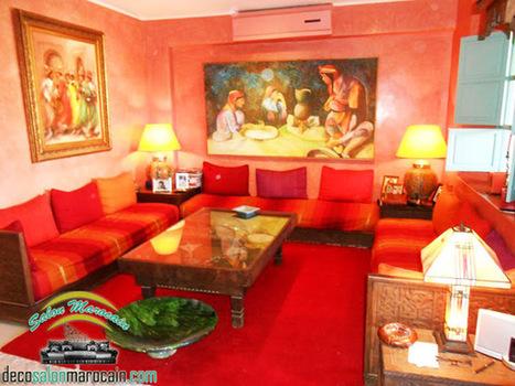 Salon marocain Tableau d'art | Salon-marocain | Scoop.it