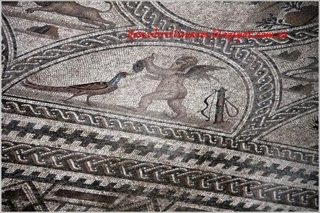 Nuestro legado (Cástulo-4): Mosaico de los Amores | Cástulo, capital de Oretania | Scoop.it
