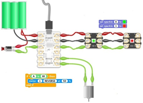 Crumble, un dispositivo muy interesante para iniciarse en la robótica | tecno4 | Scoop.it