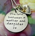 Hand Stamped Jewelry Gifts For Grandmothers, Mom, New Moms | Our Jewelry | Scoop.it