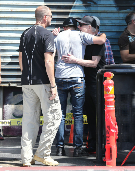 New photos: Robert Pattinson and David Cronenberg hug it out on the MTTS set - Maps to the Stars | 'Cosmopolis' - 'Maps to the Stars' | Scoop.it