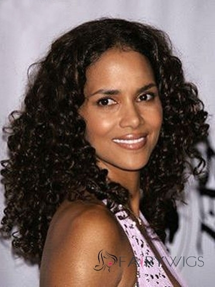 Impressive Medium Curly Sepia African American Lace Wigs for Women : fairywigs.com | African American Wigs | Scoop.it