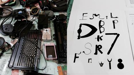 Ma poubelle pour une police de caractères | Typographie, Mise en page et ce qui m'intéresse | Scoop.it