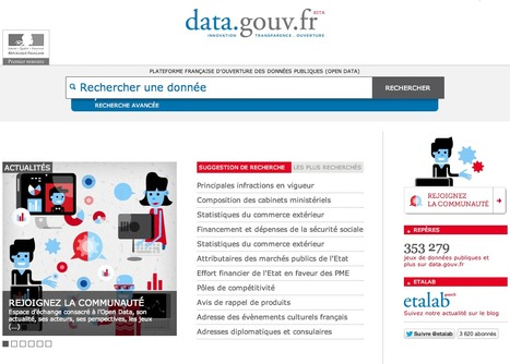 Où en est l'open-data gouvernemental ? | L'Open Data fait son chemin | Scoop.it