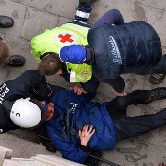 Vingt-huit blessés à la manifestation à Bruxelles | Autres Vérités | Scoop.it