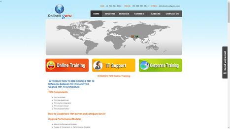 Online IT Guru - SAP ONLINE TRAINING, MICROSTRATEGY, ORACLE, HADOOP, Cognos TM1, JAVA, Android, iOS: COGNOS TM1 ONLINE TRAINING | ONLINE  TRAINING | Scoop.it