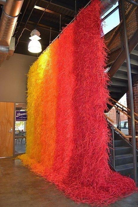 Travis Rice: Installations of Rainbow-Like Waves | Art Installations, Sculpture, Contemporary Art | Scoop.it