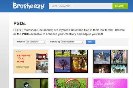 4 excelentes recursos para descargar archivos PSD gratis | Tic en la educacion | Scoop.it