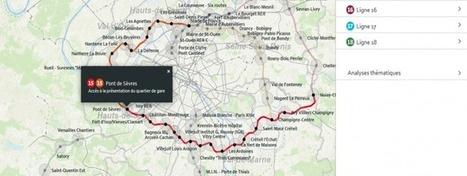 L'Observatoire des quartiers de gare devient interactif - Société du Grand Paris | Great Buzzness | Scoop.it