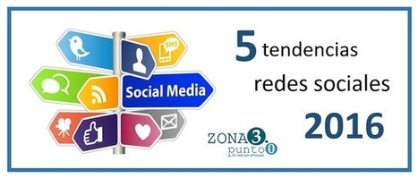 5 Tendencias en Redes Sociales para el 2016 | Monetizar tu Blog | Scoop.it