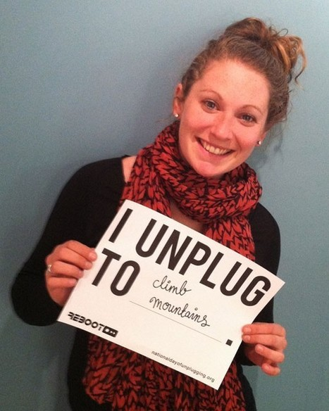 Join The National Day Of Unplugging – March 1-2, 2013 | Educommunication | Scoop.it
