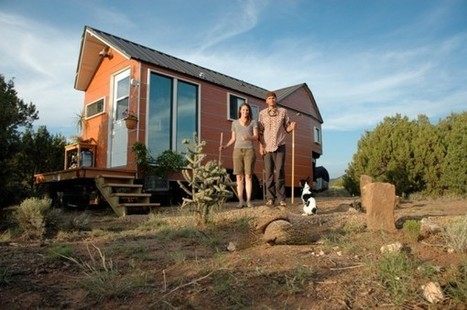 Couple Stops Paying Rent by Building Tiny Home   Revolución sustentable   Scoop.it