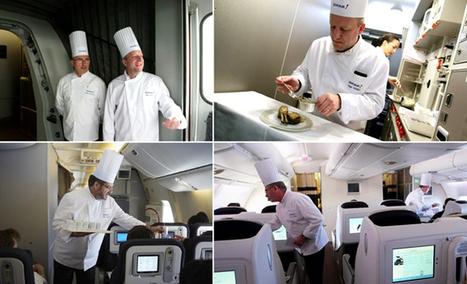 airlinetrends.com » Servair chefs make a weekly 'surprise' appearance onboard an Air France flight | Schiphol | Scoop.it