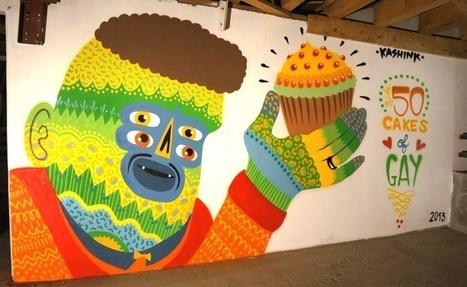 Kashink: des hommes, des gâteaux, de l'art - Yagg | A Piece of…ART | Scoop.it