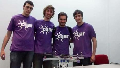 Estudiantes fueron premiados por crear el primer drone argentino | Educación 2015 | Scoop.it
