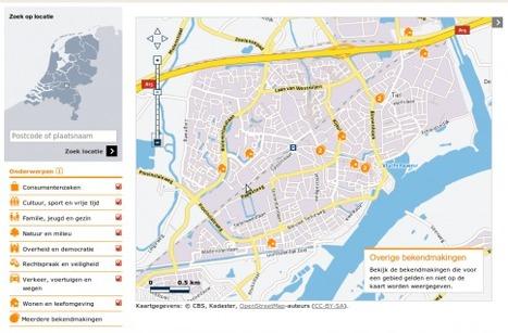 Geografische zoek en toondienst at Nederkaart | Ter leering ende vermaeck | Scoop.it