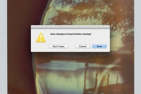 Computer Error Messages For The Heartbroken [Pics] - PSFK | Innovation and alternative strategy nuggets | Scoop.it