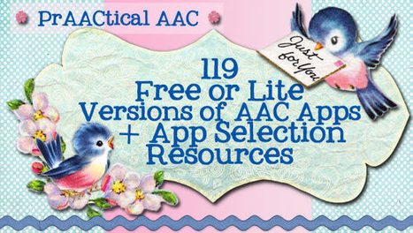 119 Free & Lite Versions of AAC Apps + App Selection Resources | AT, UDL, AAC | Scoop.it