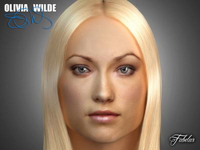 Olivia Wilde en 3D | 3D Library | Scoop.it