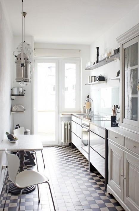 45 Creative Small Kitchen Design Ideas | Design | News, E-learning, Architecture of the future at news.arcilook.com | Kuche Design | Scoop.it
