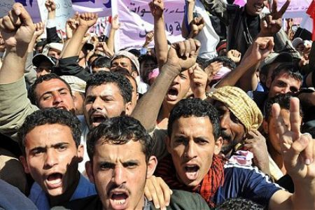 Yemenis protest Saudi, US meddling   Human Rights and the Will to be free   Scoop.it