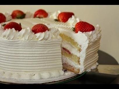 White Cake Strawberries - Quick Dessert | Quick And Easy Desserts | Scoop.it