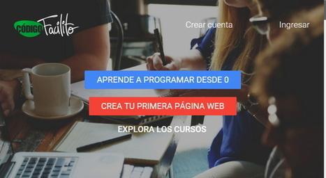 Cursos gratuitos de Programación en Código Facilito   tecno4   Scoop.it