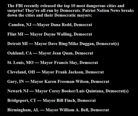 The #FBI recently released the top 10 most dangerous cities ....... | Criminal Justice in America | Scoop.it